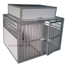 Бокс с ящиком на две собаки