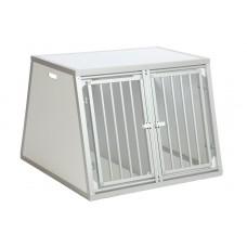 Автобокс - клетка для перевозки двух собак размер XL